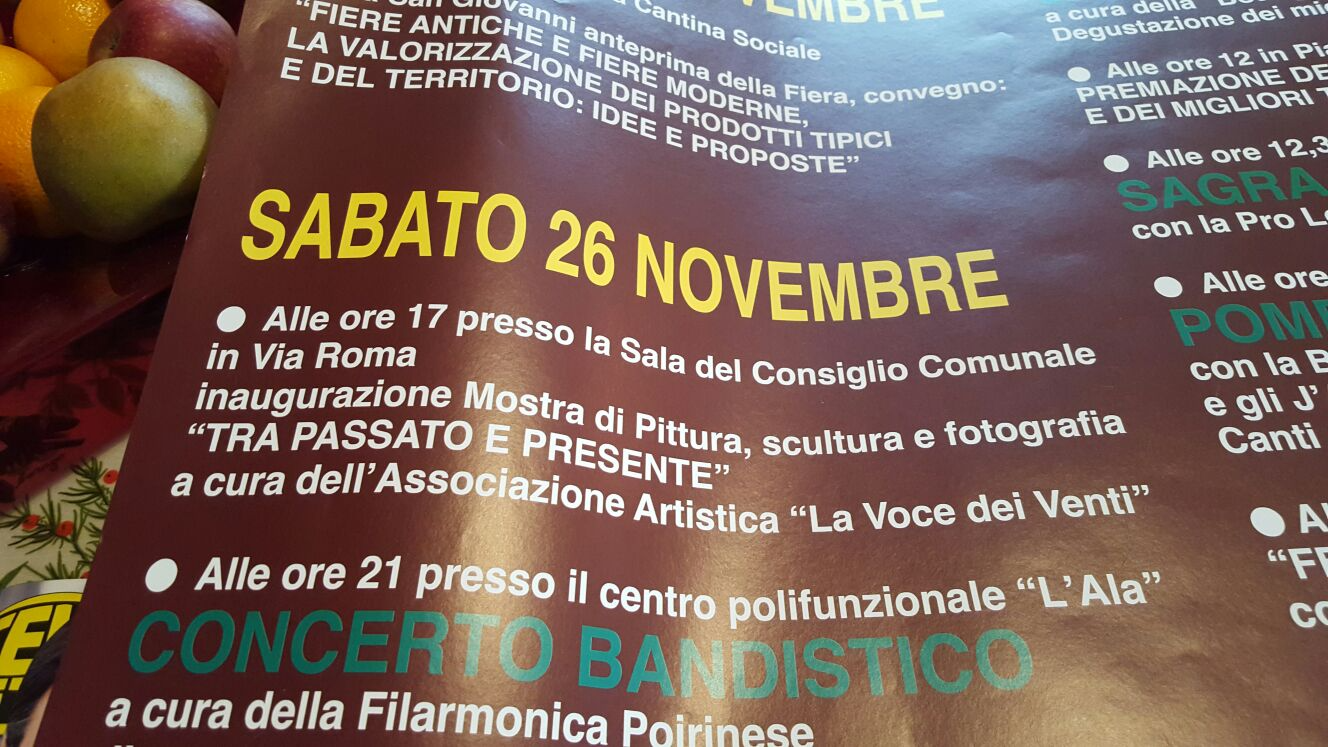 2016 - Evento e Mostra a Castelnuovo Don Bosco (AT)
